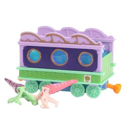 Dinosaur Train Collectible Dinosaur With Train Car: My Friends Can Swim: Max/Mitch - 1