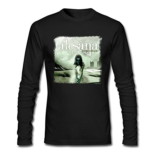 SAMSEPH Men's Alesana On Frail Wings of Vanity & Wax Long Sleeve T-shirt Size M Black (Midnight Special Wax compare prices)