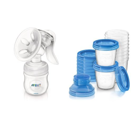 avent manual breast pump accessories