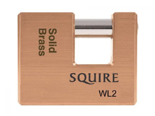 Henry Squire - Wl2 Warehouse Padlock 70Mm Solid Brass front-985969