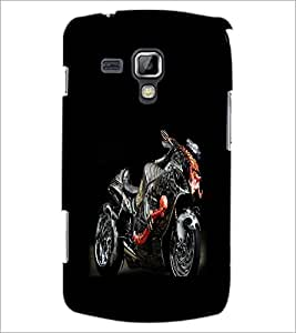Printdhaba Fantasy Bike D-1167 Back Case Cover For Samsung Galaxy S Duos S7562