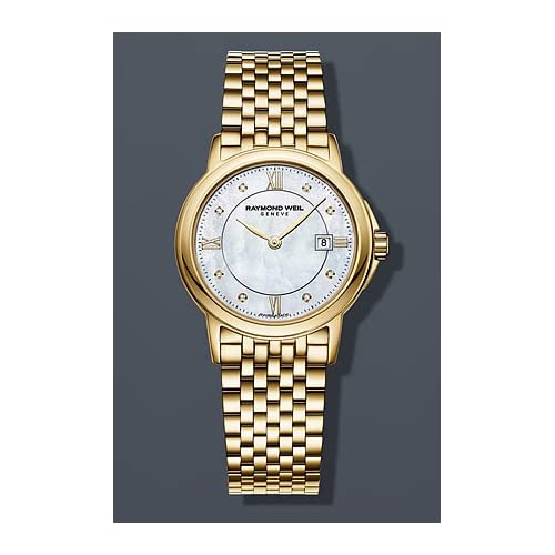 Raymond Weil 5966-P-00995 28mm Steel Bracelet & Case Anti-Reflective Sapphire Women's Watch