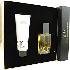 Sicily By Dolce & Gabbana For Women. Set-eau De Parfum Spray 1.7 oz & Body Lotion 3.4 oz