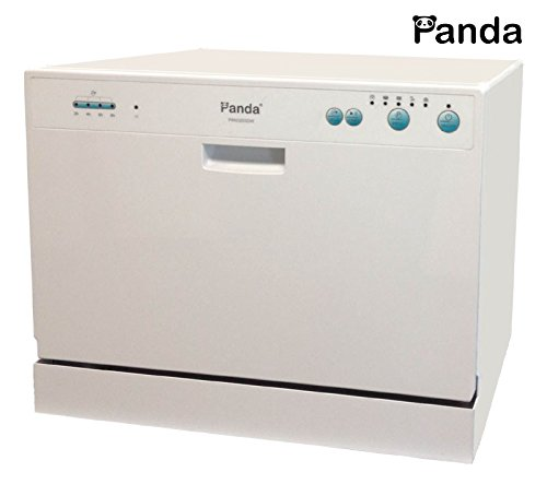 Panda Small Compact Portable Counter Top Dishwasher Delay Start PAN 3203DW