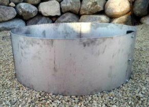 Stainless Steel Campfire Ring Fire Pit Liner Insert 30 Quot Id
