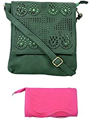 SRI Imported Fancy Designer Combo Of Handbag With Clutch For Girls And Women - B01JZBQI2I