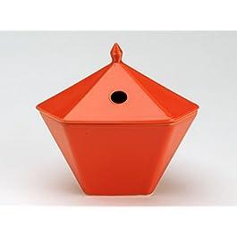 Zen piedra/yukari INC75027 quemador de aceite aromático naranja 14 x 12 x 13 cm
