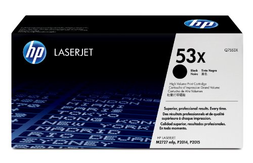 HP Original 53X LaserJet Black Toner Cartridge Q7553X Black Friday & Cyber Monday 2014