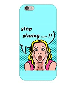 Happoz Apple Iphone 5 / 5S Cases Back Cover Mobile Pouches Shell Hard Plastic Graphic Armour Premium Printed Designer Cartoon Girl 3D Funky Fancy Slim Graffiti Imported Cute Colurful Stylish Boys D370
