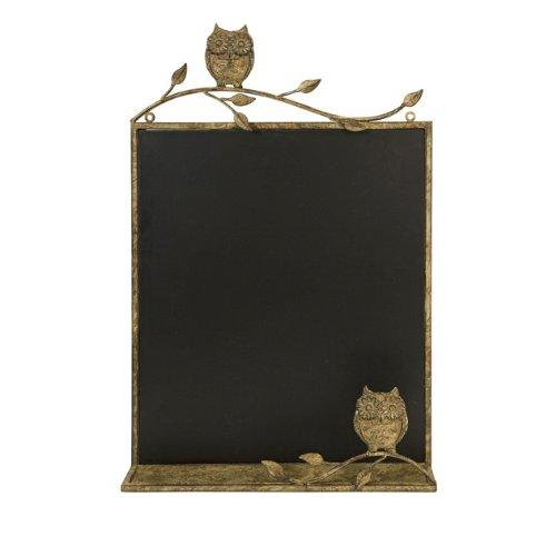 [해외]치 허니 브라운 올빼미 칠판 벽 장식에서 26.5/26.5  In the Birches Honey Brown Owl Chalkboard Wall Decoration