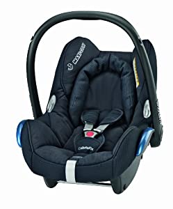 Maxi-Cosi CabrioFix Group 0+ Baby Car Seat (Total Black) 2014 Range