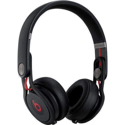 Beats by Dr. Dre Mixr Lightweight Closed Back DJ-Style Headphones (Black)