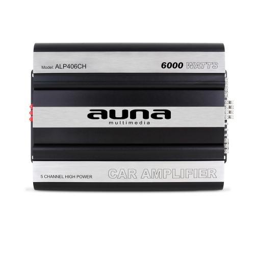 Auna-800W-RMS-6000-Watt-max-Auto-Car-Endstufe-5432-Kanal-Aluminium-Body