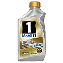Mobil 1 44976 Extended Performance 5W-30 Synthetic Motor Oil - 1 Quart Bottle (Pack of 6)
