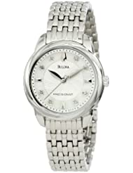 Bulova Women's 96P125 Precisionist Brightwater Mother of Pearl Watch