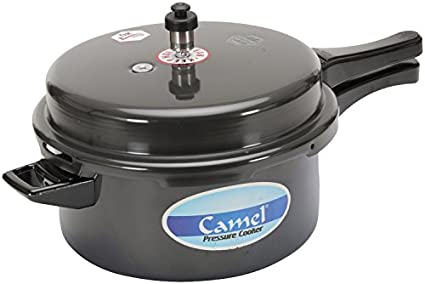Camel Hard Anodized Aluminum 7.5 L Pressure Cooker (Outer Lid)