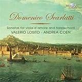 Sonatas for Viola D\'amore & Harpsichord