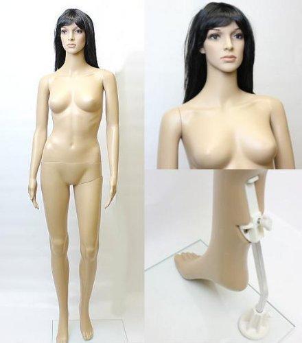 女性用マネキンG-7 等身大176cm 全身マネキン婦人用 店舗用品 MK-2727