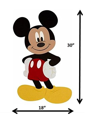 Large Disney Mickey Mouse Wall Hanging Felt Art Decor - 1