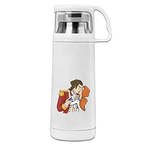BakeOnion Liberty's Kids Kis Vacuum Cup Travel Mug With Handle Cup Water Bottle For Travel Sport Gym School (Liberty Kids Episodes compare prices)