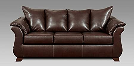 Chelsea Home Furniture Armstrong Sofa, Taos Mahogany