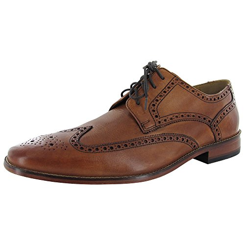 Cole Haan Mens Air Giraldo Wingtip II Dress Shoe, British Tan Calf, US 10.5 (Cole Haan Air Nike Men compare prices)