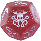 Cthulhu Dice Sparkly - Pink