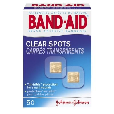 Band-Aid Clear Spots 50 Each front-404764