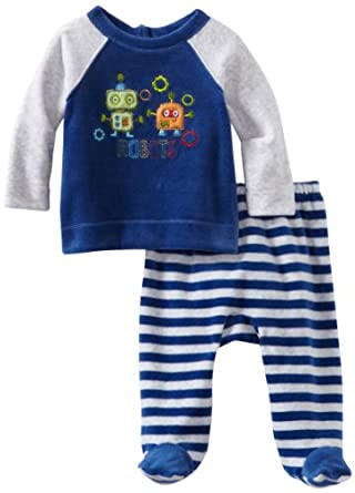Absorba Baby Two Piece Footed Pant Set z6fG