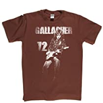 Rory Gallagher 72 T-shirt (brown/white xxlarge)