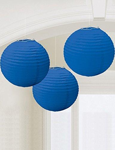 Royal Blue Paper Lanterns (3ct)