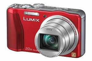 Panasonic DMC-TZ31EG-R Digitalkamera (14,1 Megapixel, 20-fach opt. Zoom, 7,5 cm (3 Zoll) Display, bildstabilisiert) rot