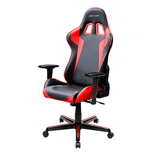 DXRacer-FH00NR-Racing-Bucket-Seat-Office-Chair-Gaming-Ergonomic-with-Lumbar-Support