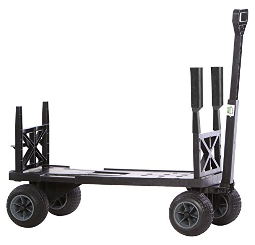 mighty-max-cart-su600b-bg-sports-utility-cart-with-all-terrain-weatherproof-wheels-400-lb-capacity