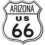 """Route 66 Arizona Metal Tin Sign 11""""W x 11""""H , 12x12"""