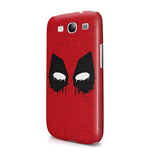 Deadpool Mask Hard Snap-On Protective Case Cover For Samsung Galaxy S3