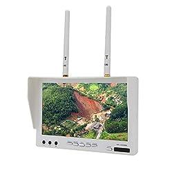 Andoer FPV RX-LCD5802 5.8G 32CH Diversity LCD Screen HD 800*480p 7\