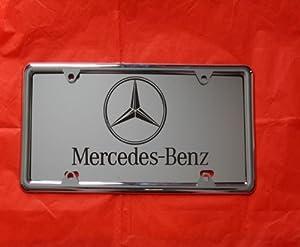 Mercedes benz laser engraved mirror license for Mercedes benz license plates