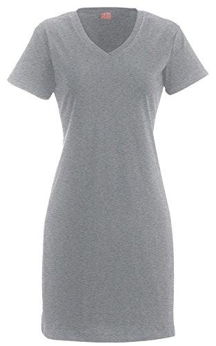 La T Ladies T-Shirt Dress - Heather (90/10) - L/Xl