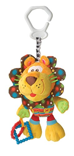 Playgro My First Activity Friend for Baby, 10 Inch, Lion - 1