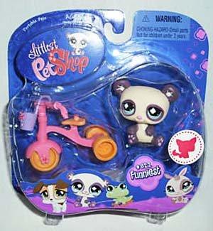 Buy Low Price Hasbro Littlest Pet Shop Series 3 Collectible Figure Panda (B001P4OM90)