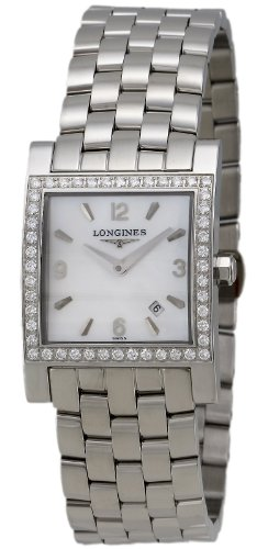 Longines Dolce Vita Stainless Steel & Diamond Womens Watch Calendar L5.503.0.86.6