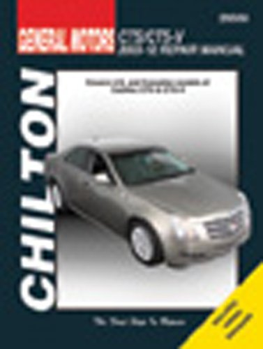 Chilton Total Car Care Cadillac CTS & CTS-V 2003-2012 Repair Manual (Chilton's Total Car Care Repair Manual) (2008 Cadillac Cts Owners Manual compare prices)