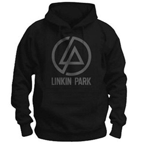 Ufficiale Linkin Park-logo-Unisex Felpa con cappuccio Black S
