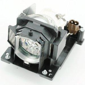 haiwo dt01091/cpd10lamp de haute qualité Ampoule de projecteur de remplacement compatible avec boîtier pour Hitachi CP-AW100N/D10/DW10N, ED-AW100N/aw110N. ED-D10N/ed-d11N.