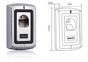 Original SEBURY F0072 Fingerprint Scanner, Türöffner, Toröffner, Biomterie, Zutrittskontrolle, Access Control, NEUES Modell F0072 (Version 2) von NaviNEC Gärtner  BaumarktKritiken und weitere Informationen