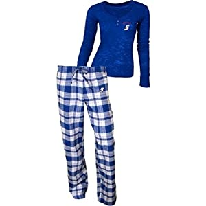 Buy Concept Sports Kasey Kahne Crossroads Ladies Flannel Pajama Set by My Sports Shop