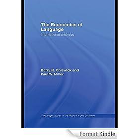 The Economics of Language: International Analyses