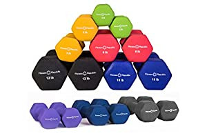 Fitness Republic Neoprene Dumbbell Pairs - Combo