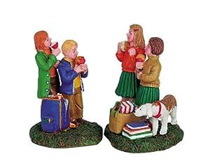 Lemax Harvest Crossing Village Sticky Apples 2-Piece Figurine Set #62244